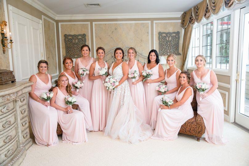 Bridal Party in Bridal Suite