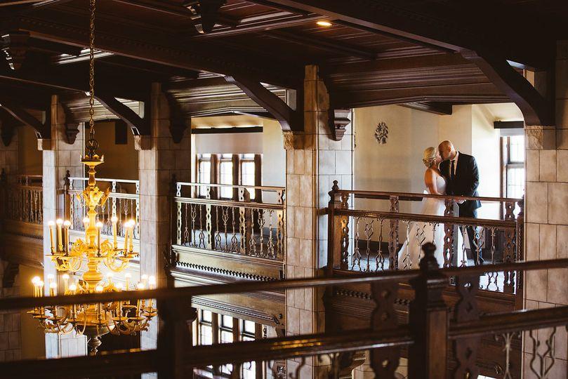 Tudor Balcony