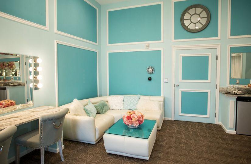 Bride's suite