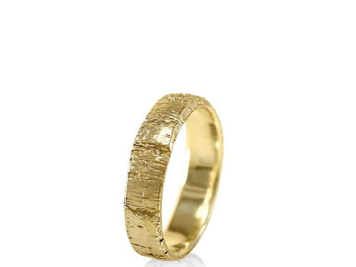 Tmx 1471471777512 Aspen Bark Tree Ring Mens Engagement Ring Mens Wed Sebastopol wedding jewelry