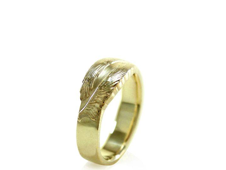 Tmx 1471471792231 Avem Band Ring Mens Wedding Band Yellow Rose Gold  Sebastopol wedding jewelry