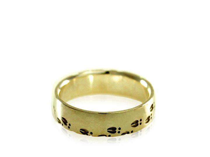 Tmx 1471471802986 Deer Hoof Band Ring Mens Engagement Ring Mens Wedd Sebastopol wedding jewelry