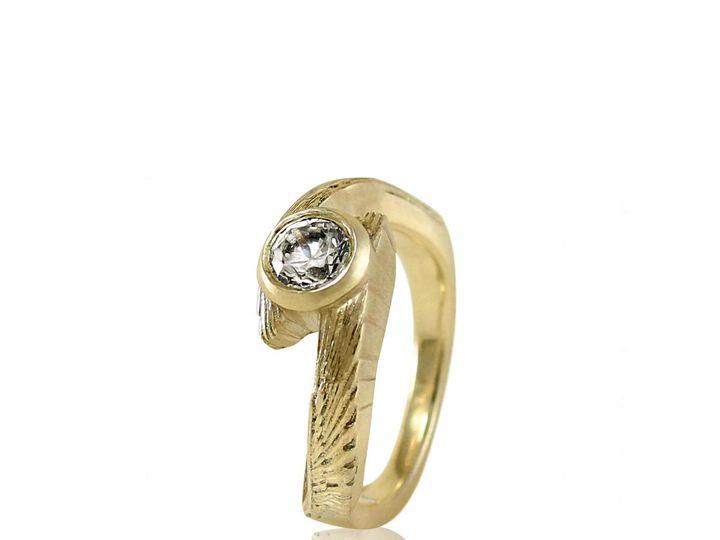 Tmx 1476472609907 Avem Wing Moissanite Engagement Ring1 Sebastopol wedding jewelry