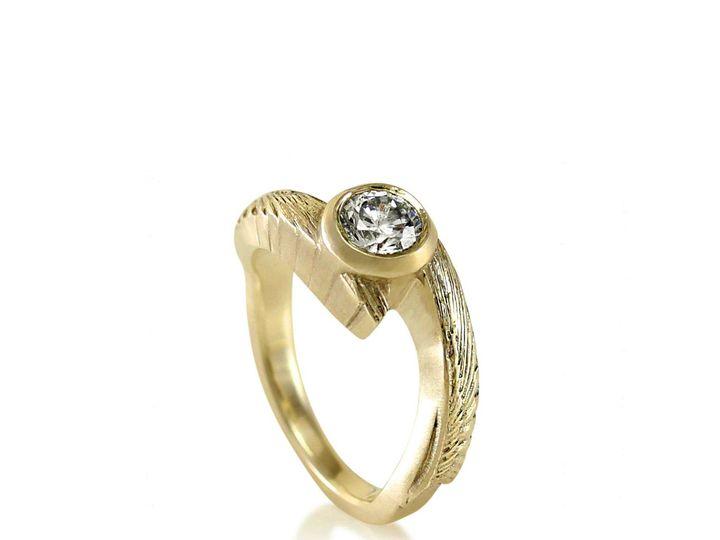 Tmx 1476472618760 Avem Wing Moissanite Engagement Ring2 Sebastopol wedding jewelry