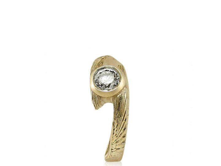 Tmx 1476472629781 Avem Wing Moissanite Engagement Ring3 Sebastopol wedding jewelry