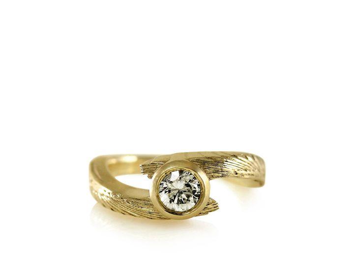 Tmx 1476472638143 Avem Wing Moissanite Engagement Ring4 Sebastopol wedding jewelry