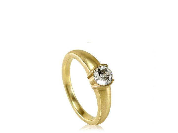 Tmx 1476472648588 Classic Half Bezel Engagement Ring1 Sebastopol wedding jewelry
