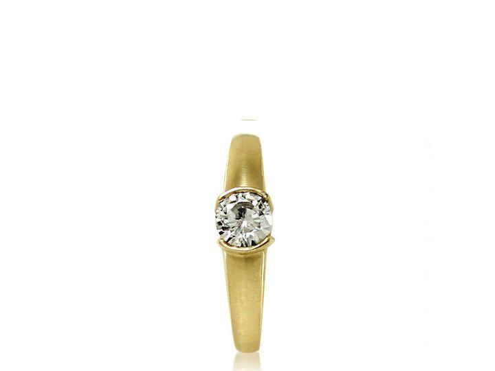 Tmx 1476472669093 Classic Moissanite Engagement Ring2 Sebastopol wedding jewelry