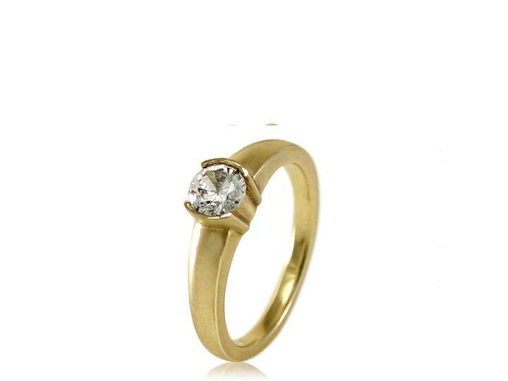 Tmx 1476472680563 Classic Moissanite Engagement Ring3 Sebastopol wedding jewelry