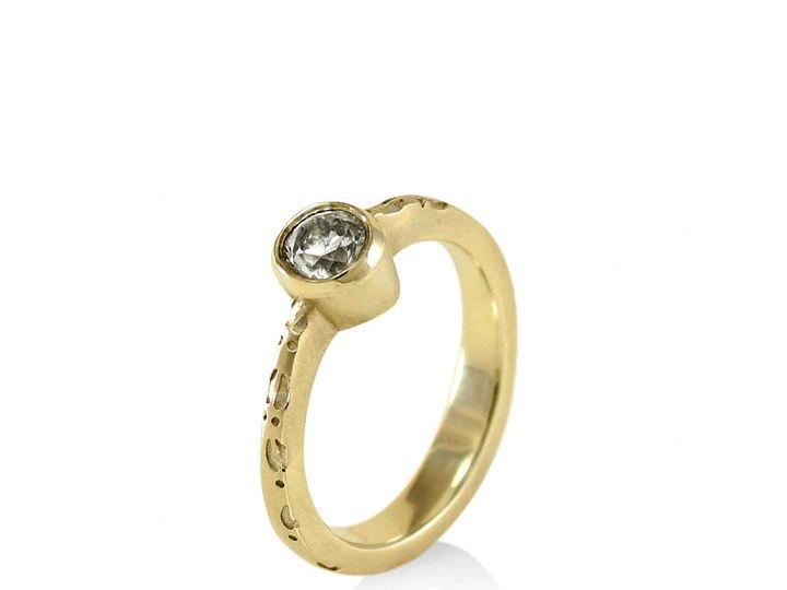 Tmx 1476472740676 Deer Hoof Moissanite Engagement Ring1 Sebastopol wedding jewelry