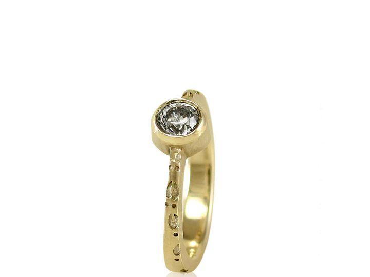 Tmx 1476472752543 Deer Hoof Moissanite Engagement Ring2 Sebastopol wedding jewelry