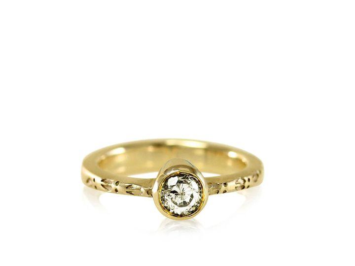 Tmx 1476472774960 Deer Hoof Moissanite Engagement Ring4 Sebastopol wedding jewelry