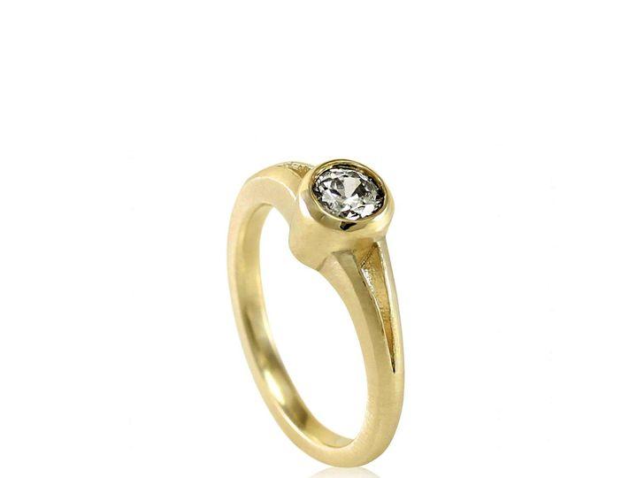 Tmx 1476472800282 Split Shank Full Bezel Moissanite Engagement Ring2 Sebastopol wedding jewelry