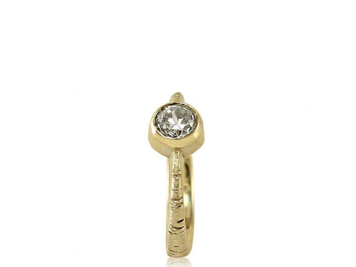 Tmx 1476472833655 Tapered Band  Full Bezel Aspen Moissanite Engageme Sebastopol wedding jewelry