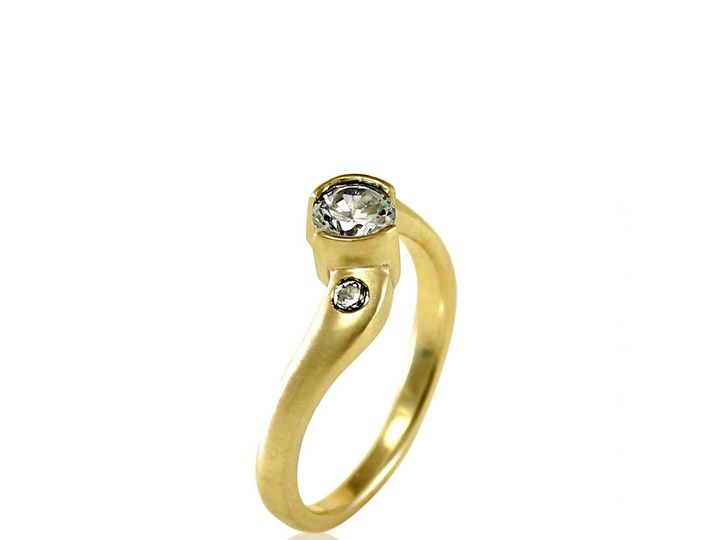 Tmx 1476472884771 Twist Shank Moissanite Engagement Ring2 Sebastopol wedding jewelry