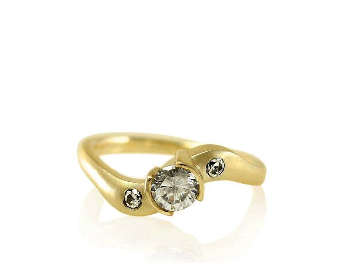 Tmx 1476472896411 Twist Shank Moissanite Engagement Ring3 Sebastopol wedding jewelry
