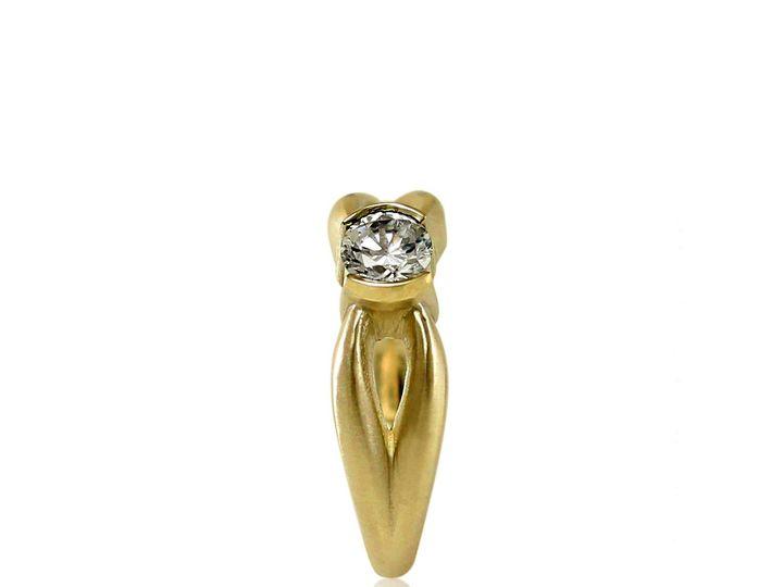 Tmx 1476473175073 Antler Moissanite Engagement Ring2 Sebastopol wedding jewelry