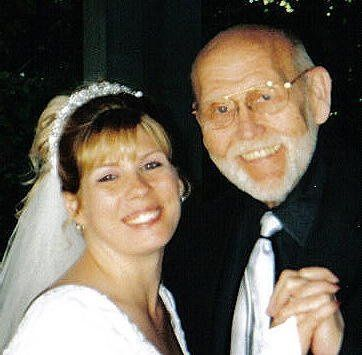 Rev Jim with new bride