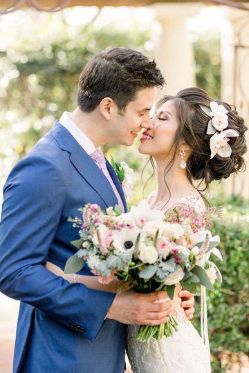 The happy couple (Lisa RIley Photography)