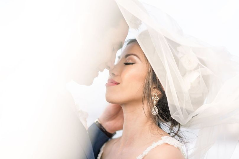 Under the veil (Lisa RIley Photography)