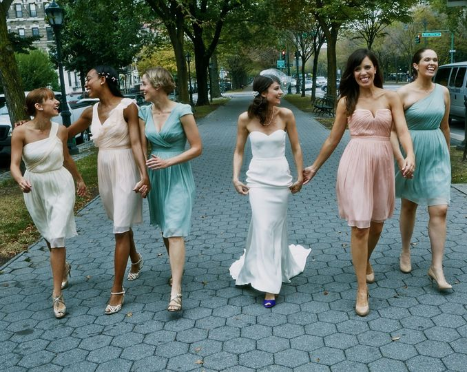 Matthew + MacK Fall Park Wedding (Prospect Park, Brooklyn)