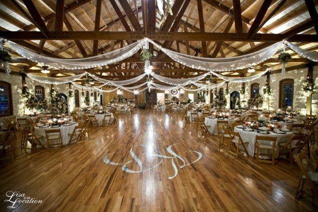 Wide reception area
