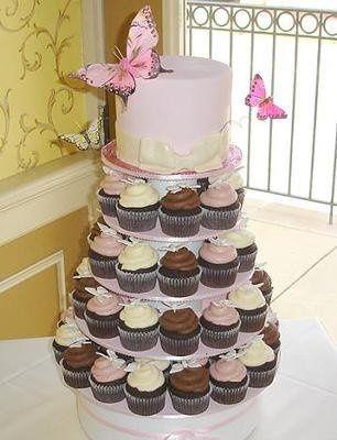 Tmx 1337643638800 Bridalshowercupcakes Temecula wedding cake