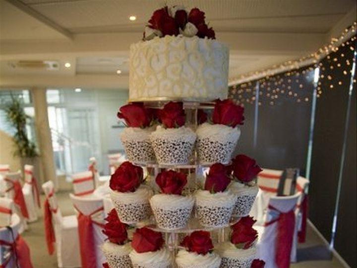 Tmx 1337643648089 QueenMaryWhiteChocolateCupcakes Temecula wedding cake