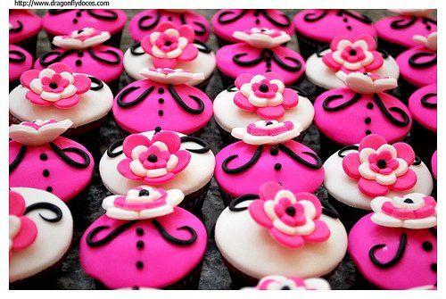 Tmx 1337644235781 Pinkblack18thbdaycupcakes Temecula wedding cake