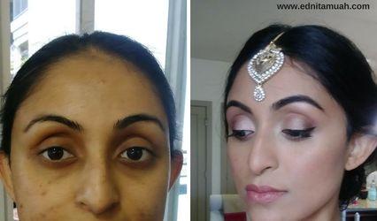 Ednita Salazar Makeup and Hair Design 1