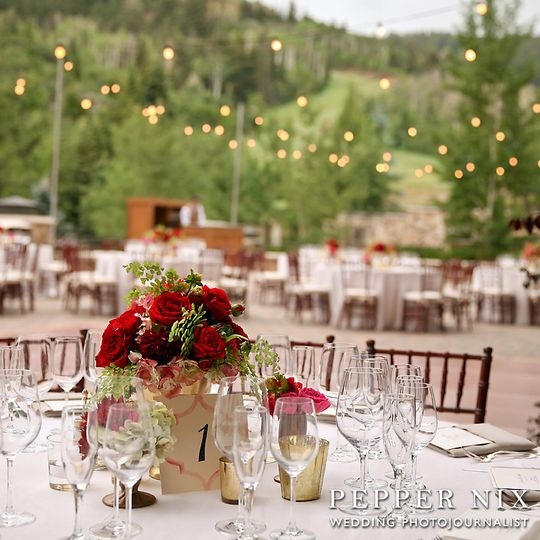 Outdoor reception - Pepper Nix Photography