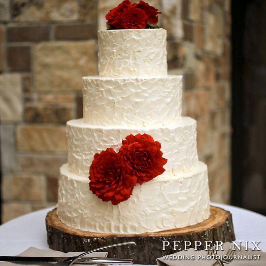 Classic wedding cake - Pepper Nix Photography