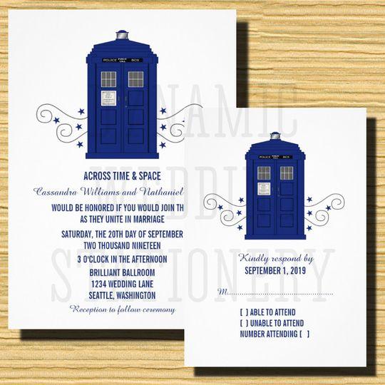 Very Dynamic Wedding Stationery - Invitations - Batesville, AR  DQ73