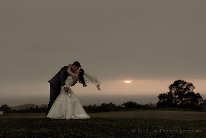 Kissing at dawn