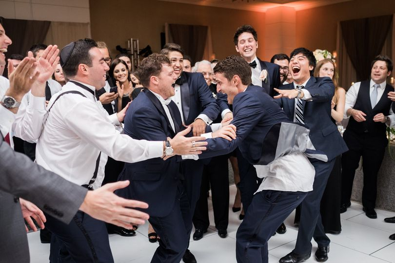 Dance party with the groom