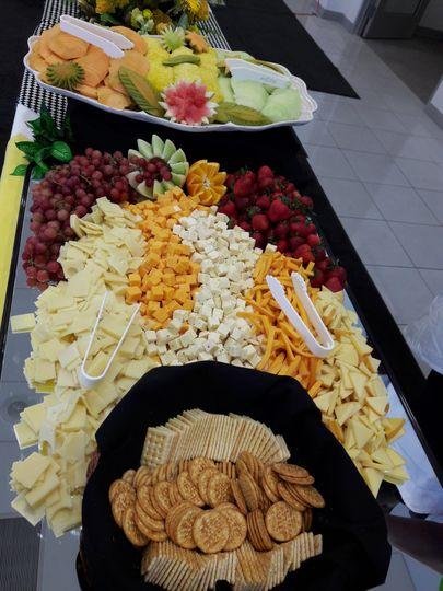 Gourmet Cheese Diplay