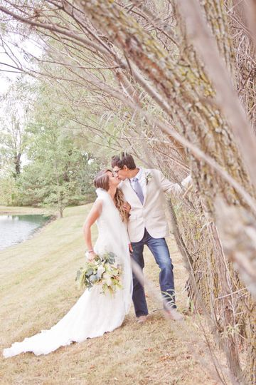 Elegantly rustic wedding.