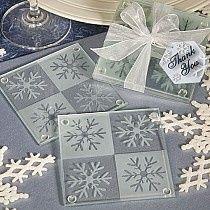 Tmx 1377785969838 Snowflake Glass Coaster Set Green Bay, WI wedding favor