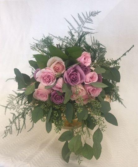 Deconstructed Bridal Bouquet