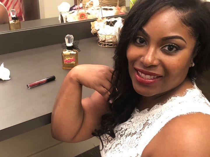 Bride Finished Make-Up