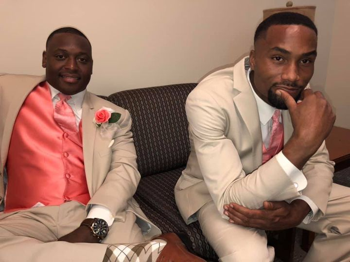 Brothers to Bride and Groom