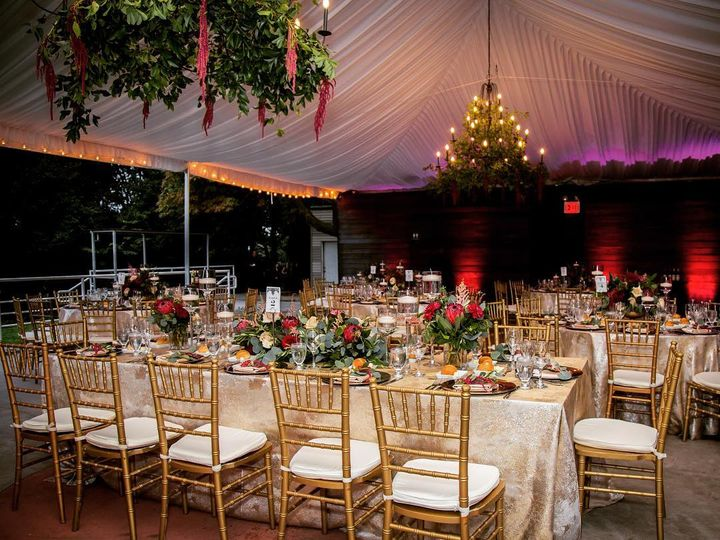 Tmx Long Tables Tent 51 718462 Staten Island, New York wedding venue