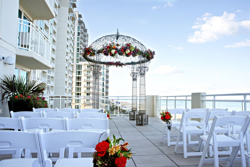Garden Furniture Virginia Beach hilton garden inn virginia beach oceanfront - venue - virginia