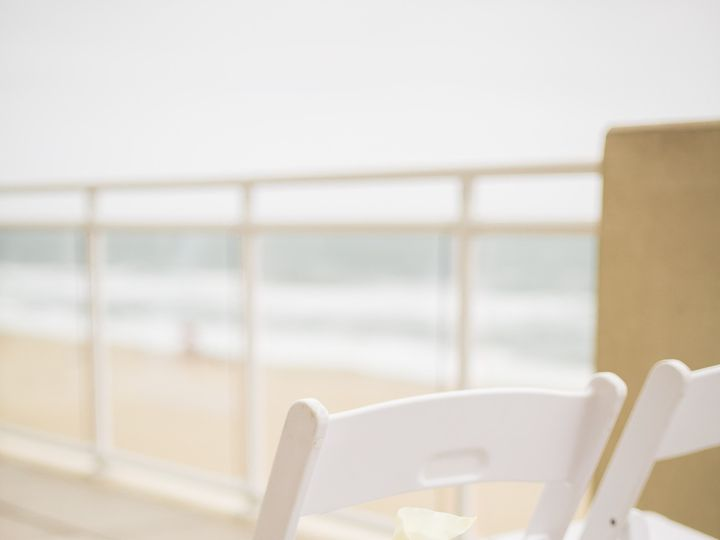 Tmx 1499961188052 Ceremony On Sundeck   White Padded Chairs And Orch Virginia Beach, VA wedding venue
