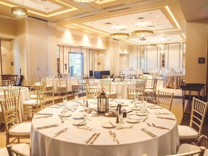 Tmx 1500677190888 Entire Ballroom View With Lanterns And Gold Virginia Beach, VA wedding venue