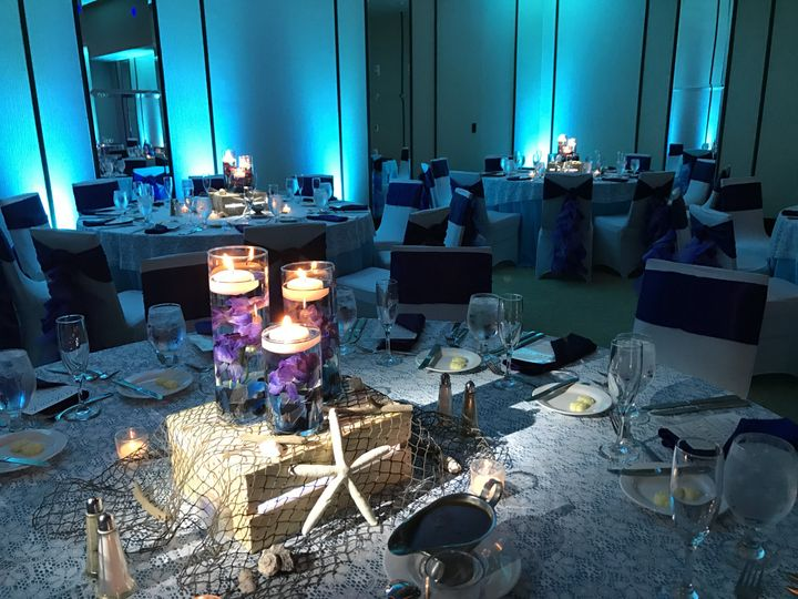 Tmx Pin Spotting Centerpiece With Floating Candles 51 678462 159863034683841 Virginia Beach, VA wedding venue