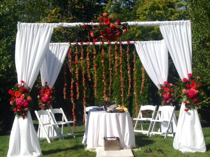 Tmx 1451509939456 Lipinoga Florist Outdoor Wedding Ceremony Flowers  Clarence wedding florist