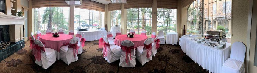 Small Wedding Reception-Atrium