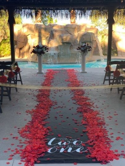 ceremony with waterfall background 6 22 wedding 51 970562 1565894661