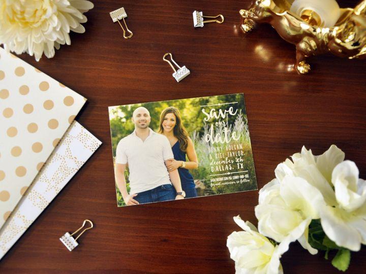 Tmx 1452103800742 Jennykielsavethedates Chapel Hill wedding invitation